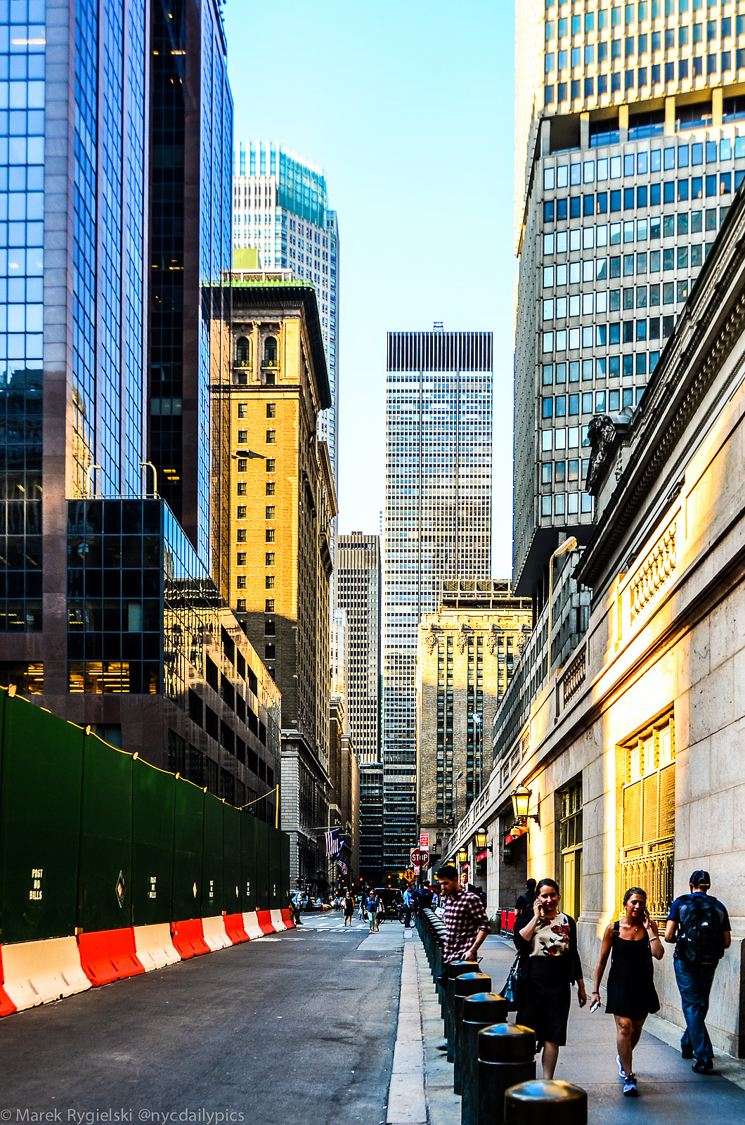 Vanderbilt Avenue - photo exhibition Manhattan by Marek Rygielski