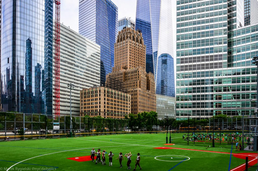 Battery Park City photo exhibition Manhattan by Marek Rygielski
