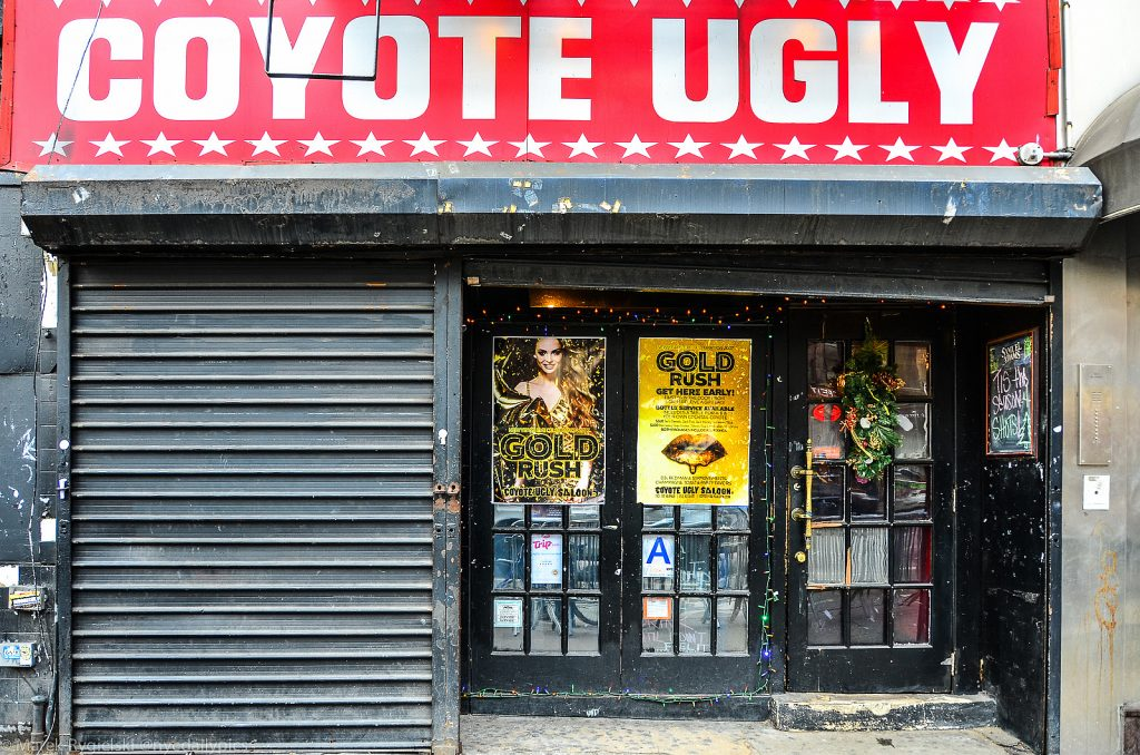 Coyote Ugly, East Village