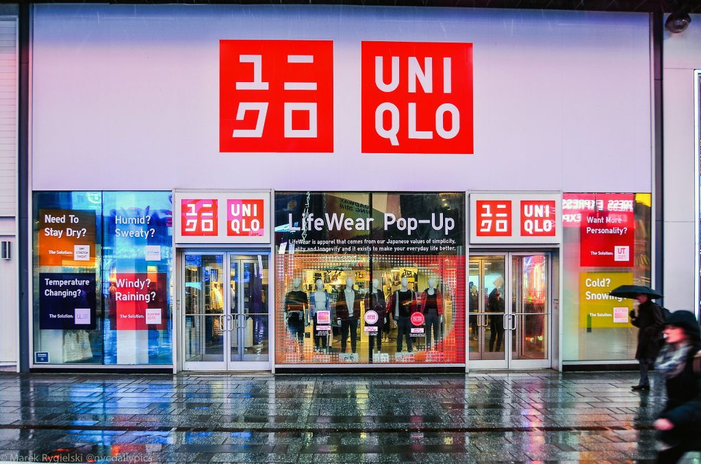 Uniqlo Times Square Pop Up
