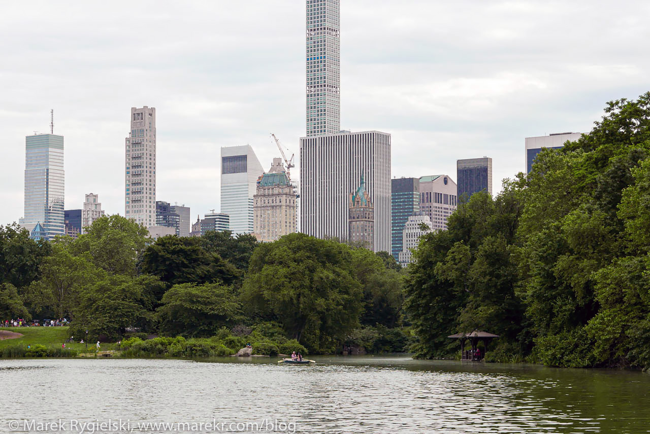 Central Park - The Lake.