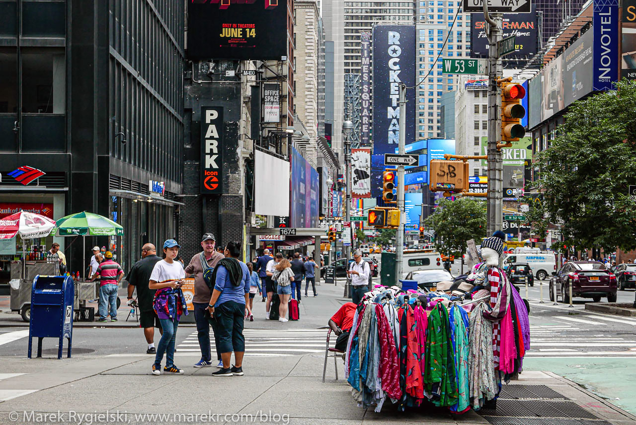 Broadway, Midtown Manhattan.