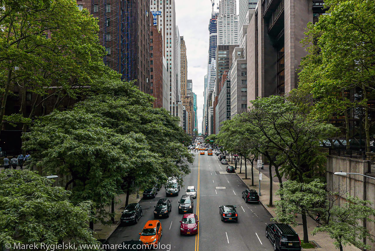 42nd Street - view from Tudor City.