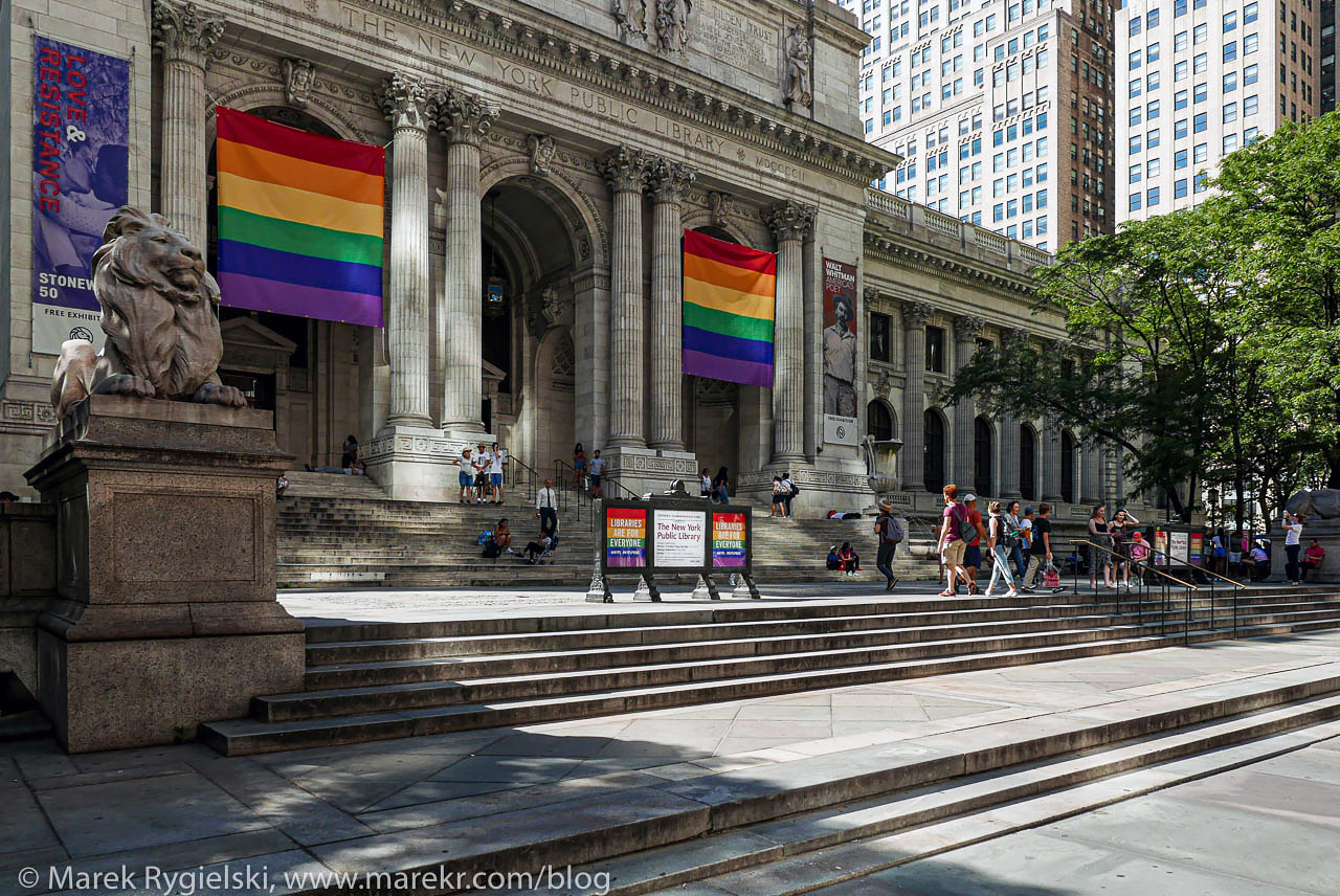 The New York Public Library - 5th Avenue & 42nd Street.