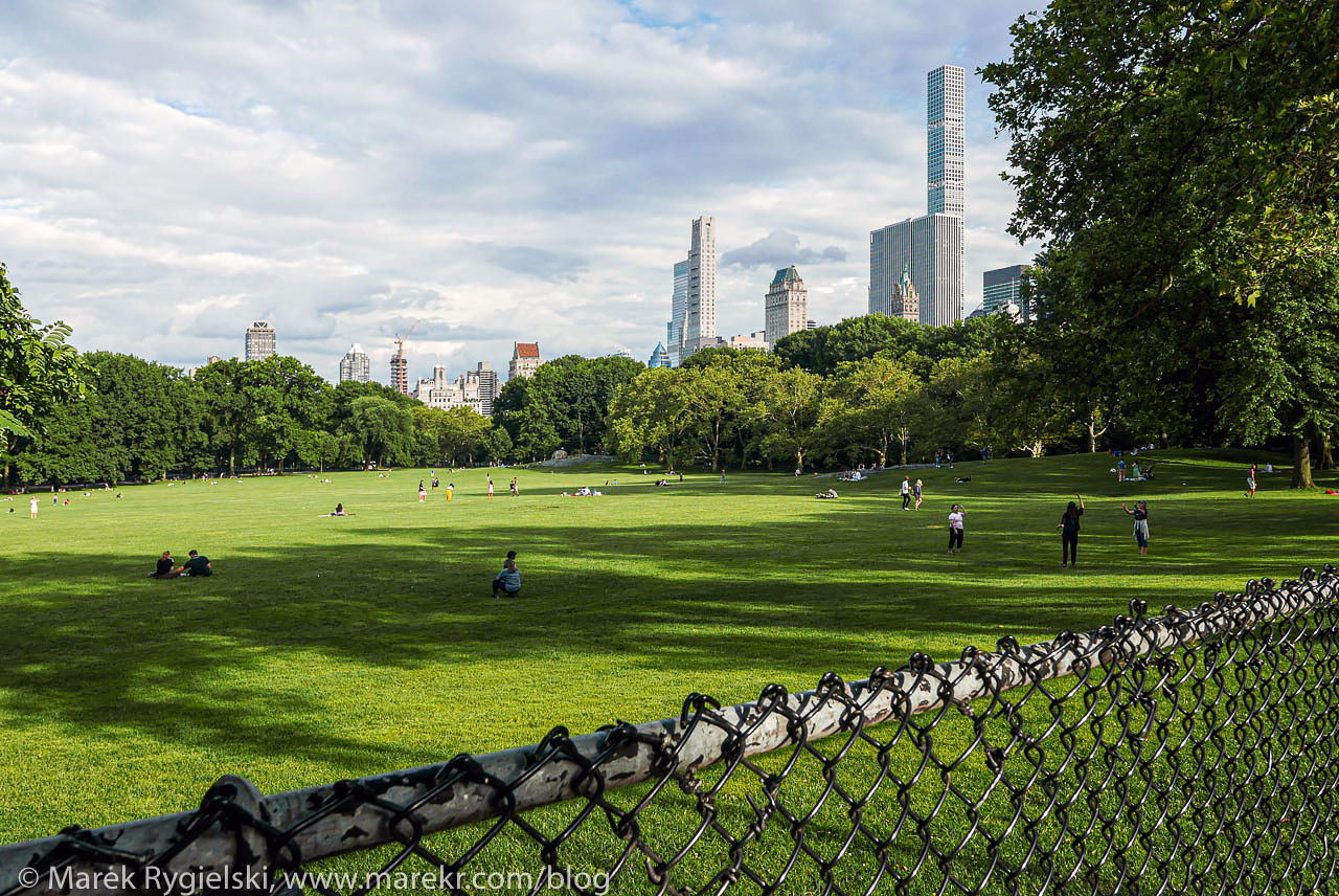 Sheep Meadow, Central Park.