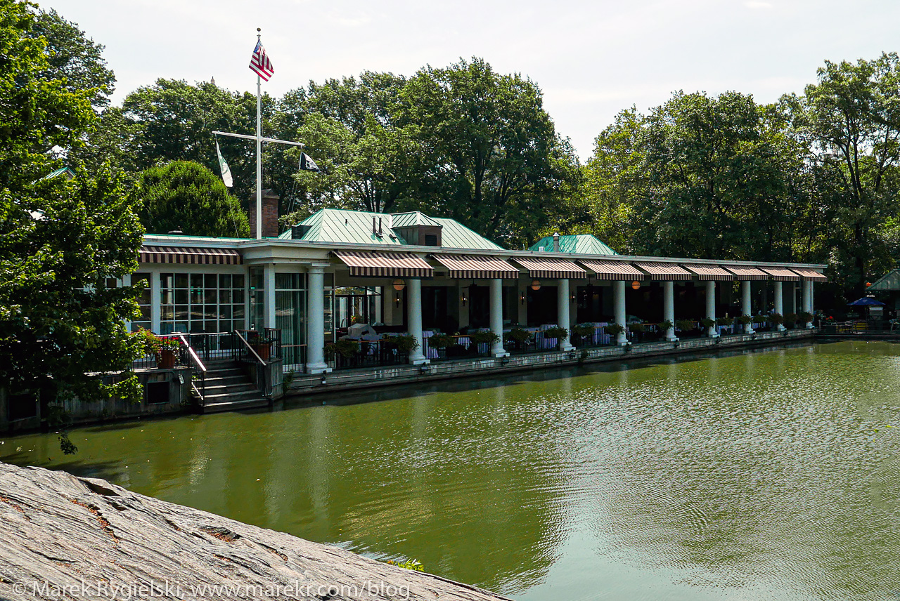 The Loeb Boathouse, Central Park.