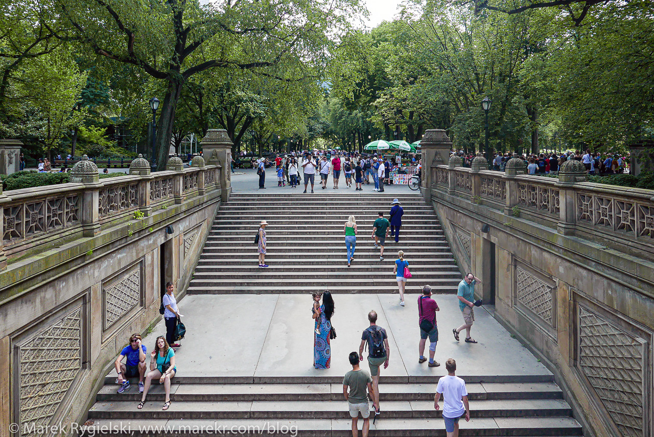 Central Park, The Mall.