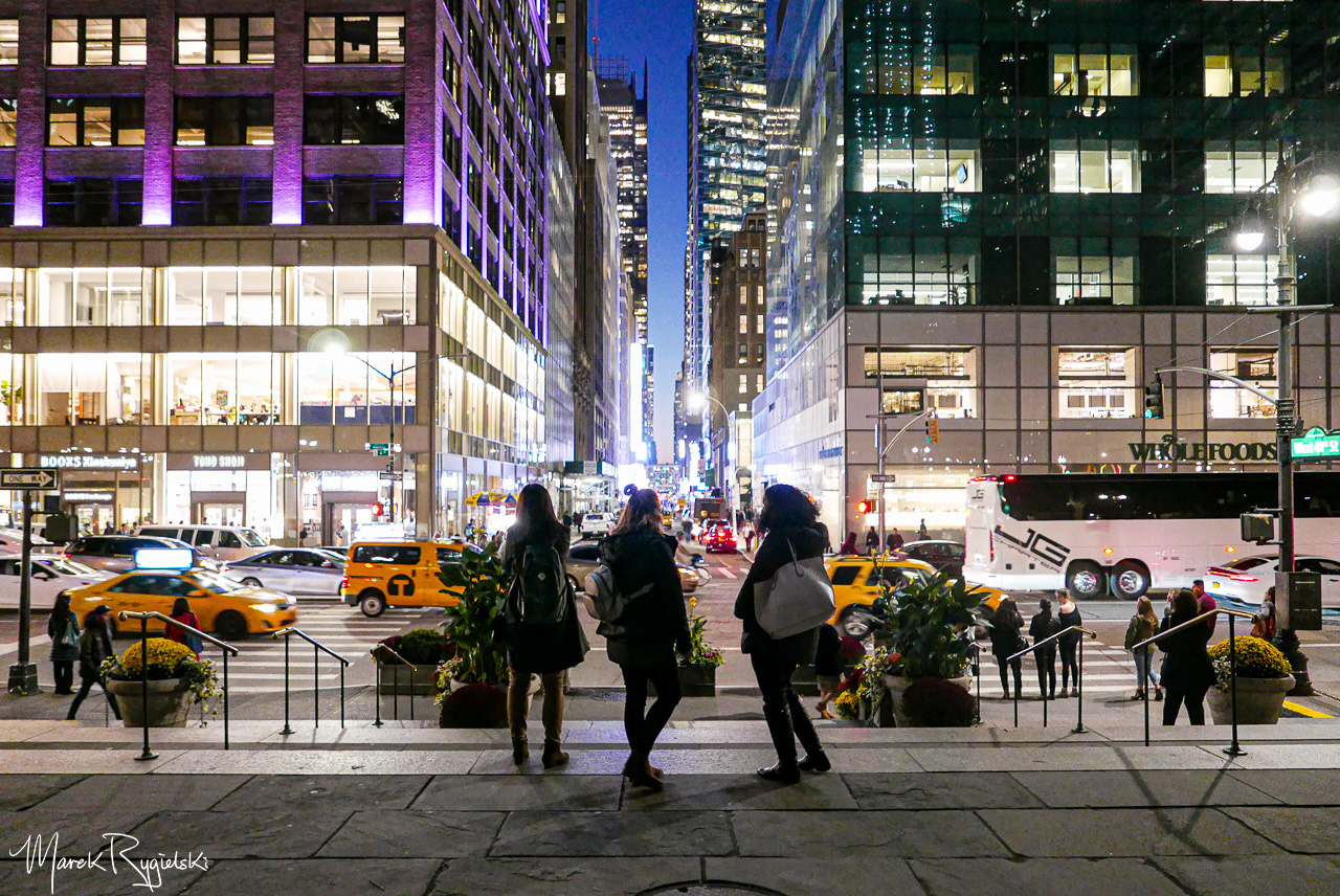 41st Street, view from the Bryant Park.