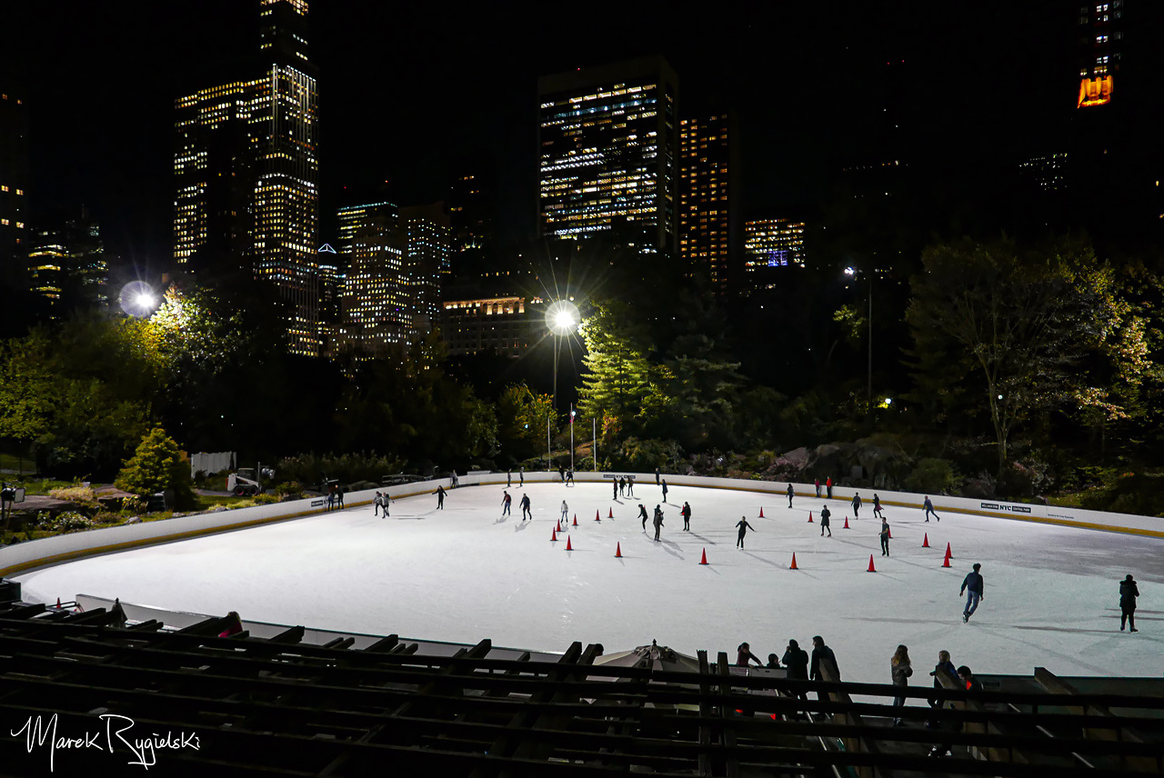 Wollman Rink. Central Park.
