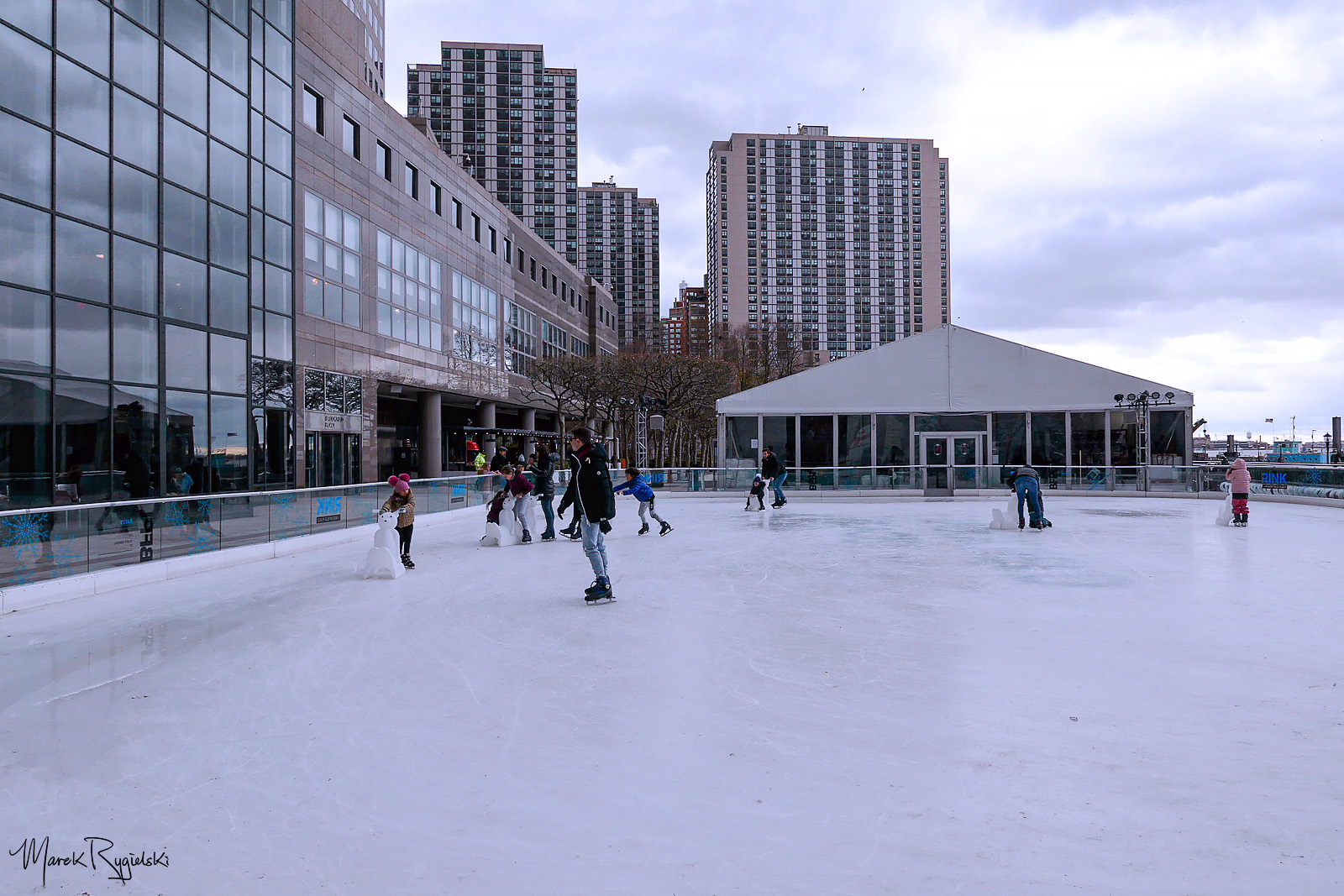 The Rink at Brookfield Place, Downtown Manhattan.