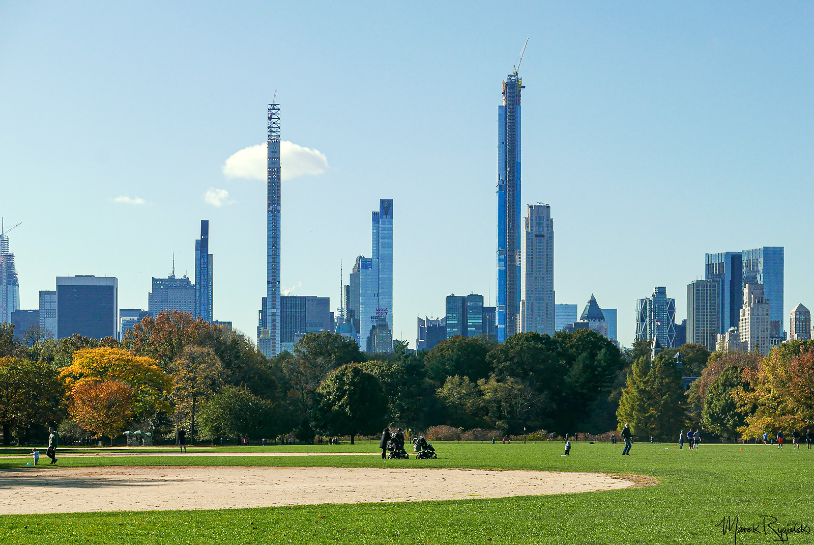The Great Lawn, Central Park.