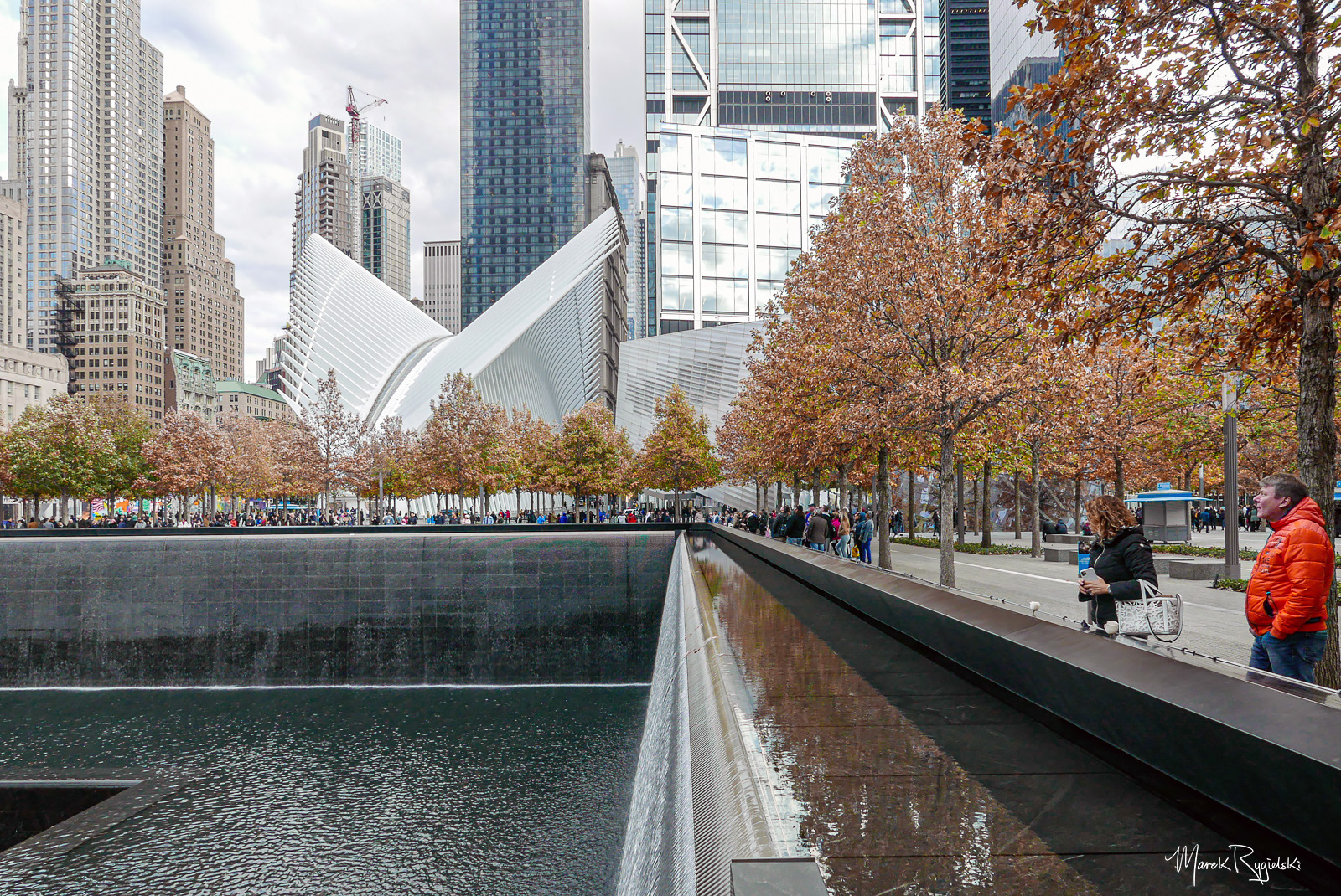 9/11 Memorial and World Trade Center.