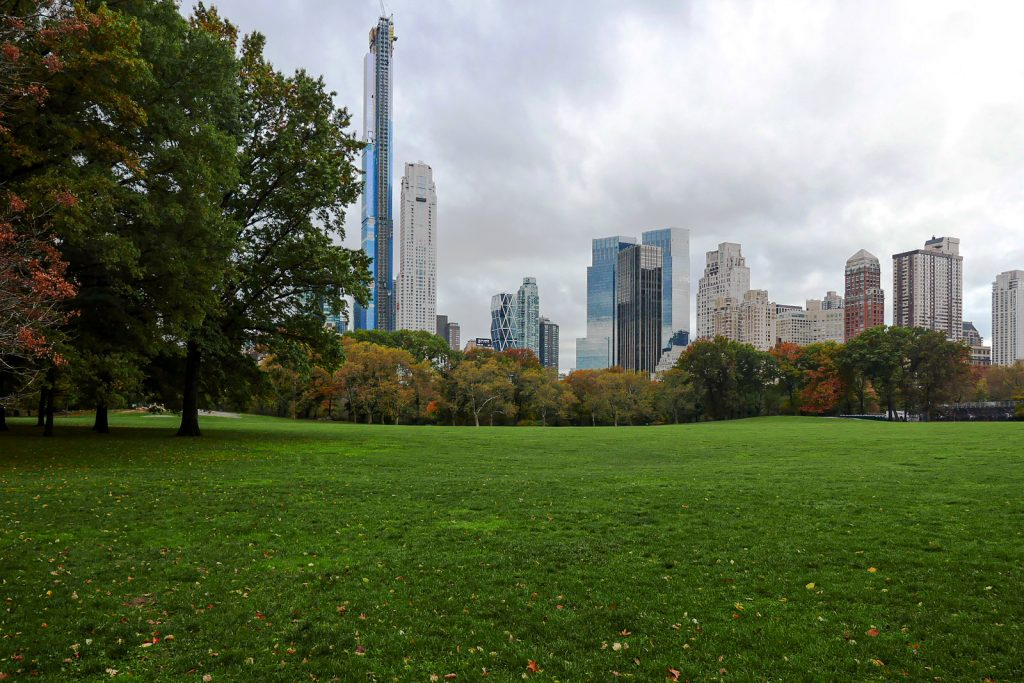Central Park, Sheep Meadow.