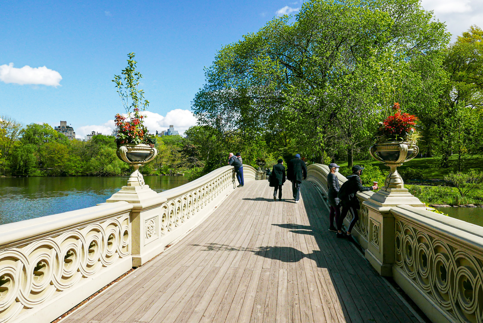 Bow Bridge, Central Park.