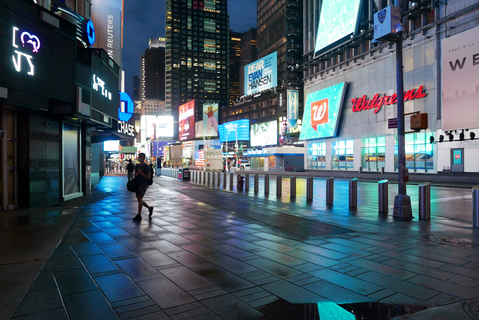 Friday evening in New York City - Times Square.