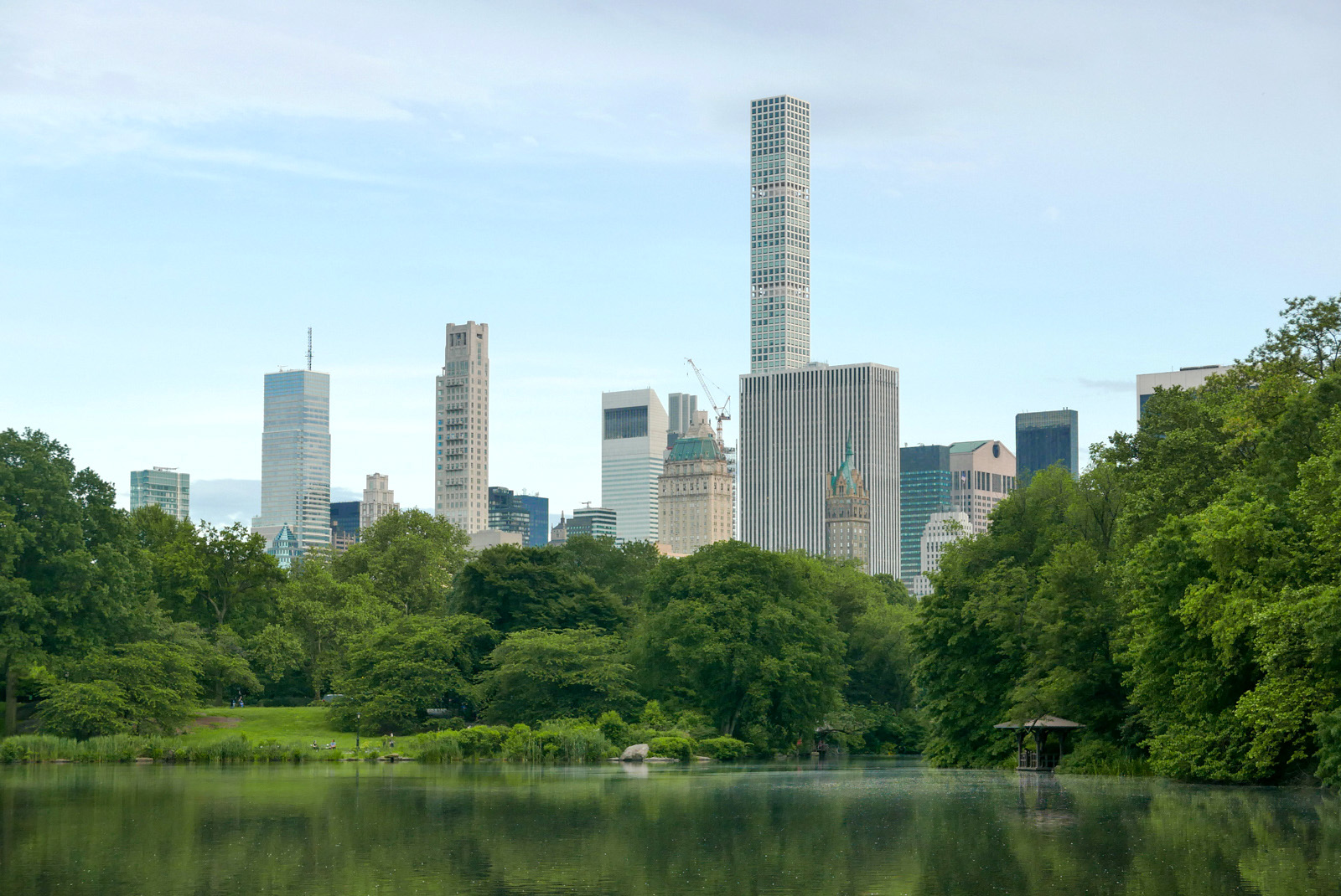 The Lake, Central Park.