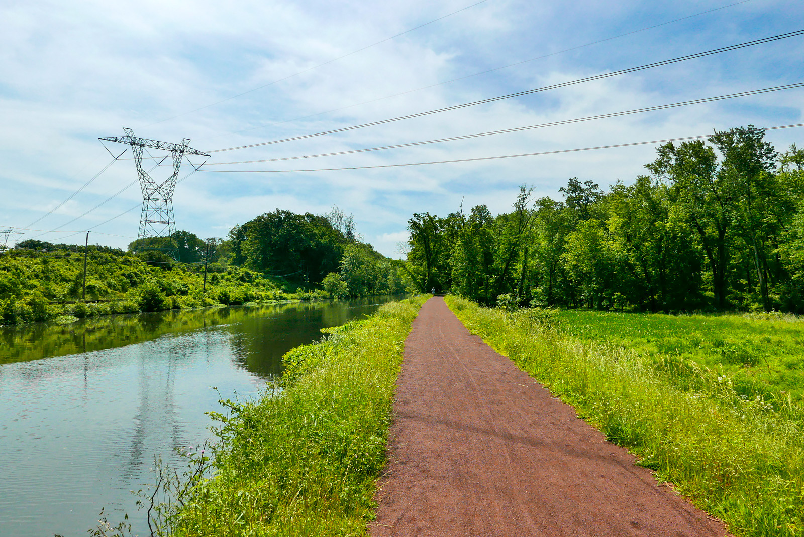Delaware and Raritan Canal State Park Trail