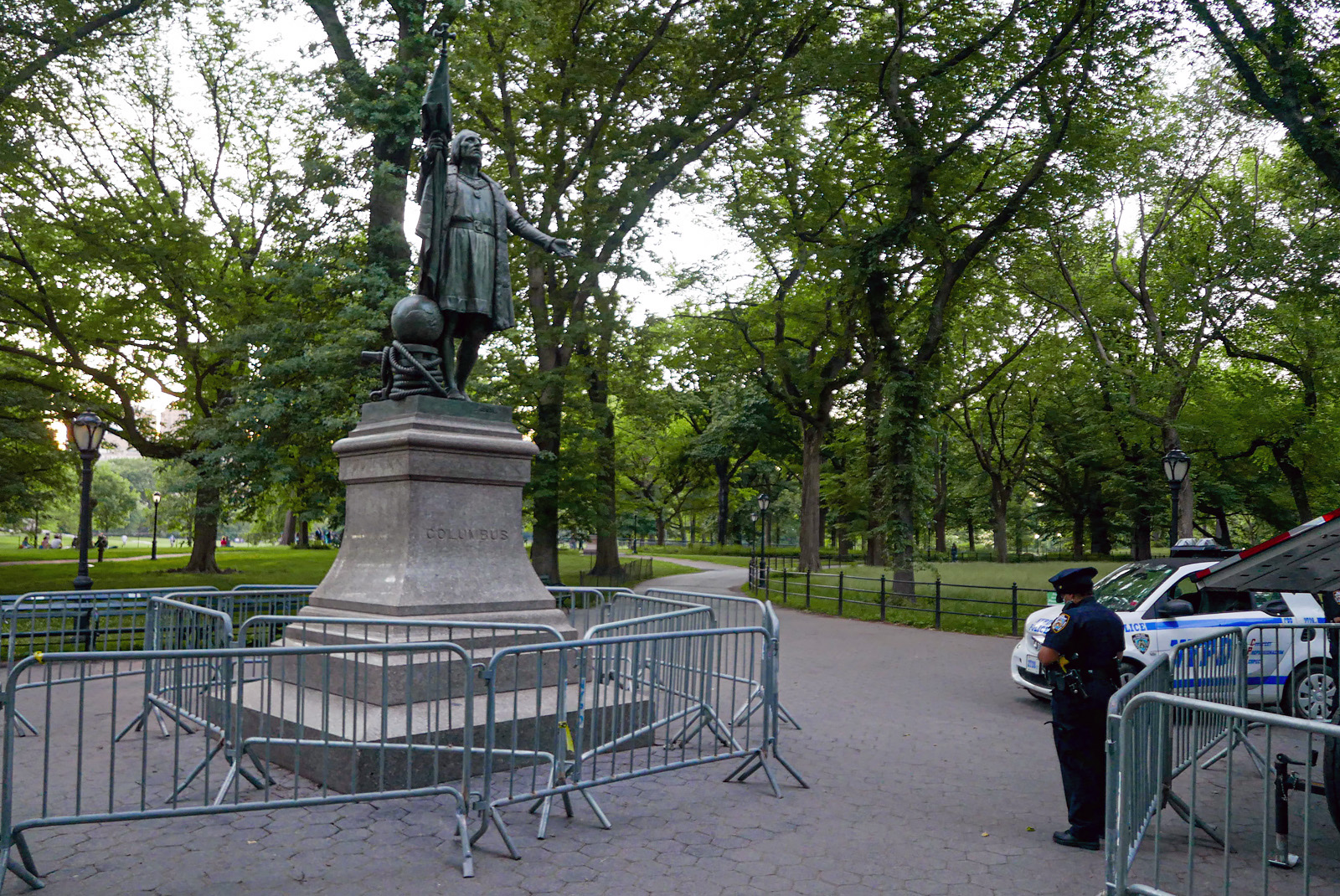 Columbus Statue, The Mall, Central Park.