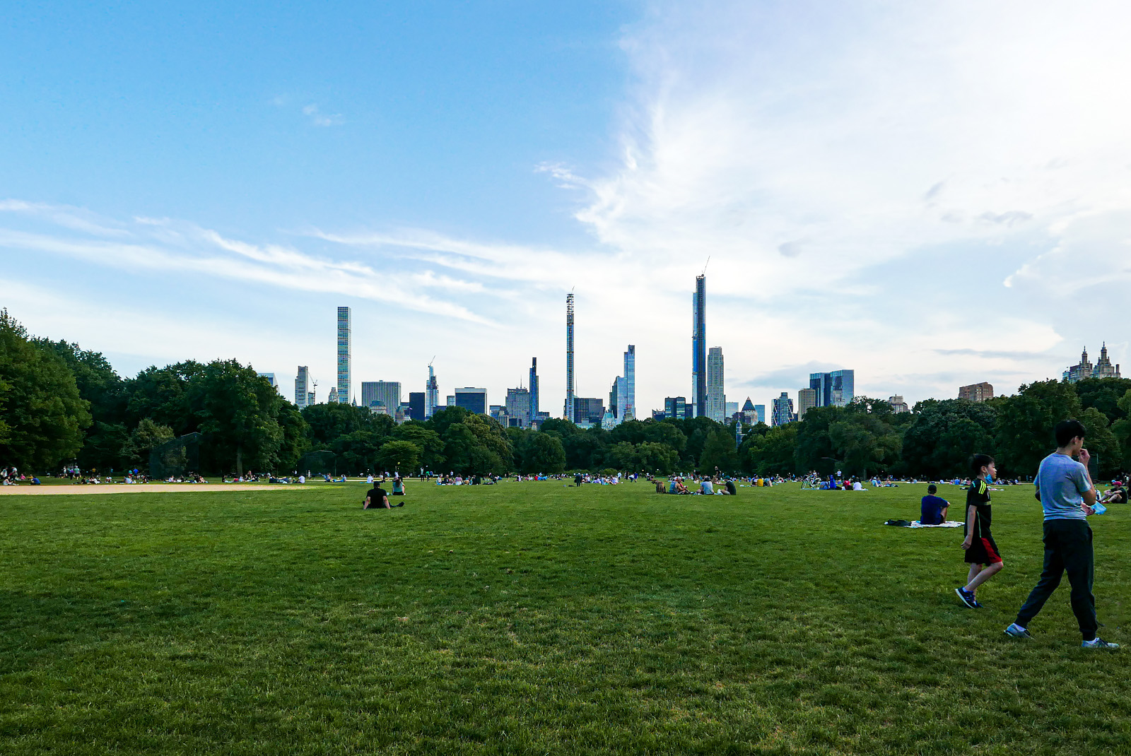Great Lawn, Central Park.