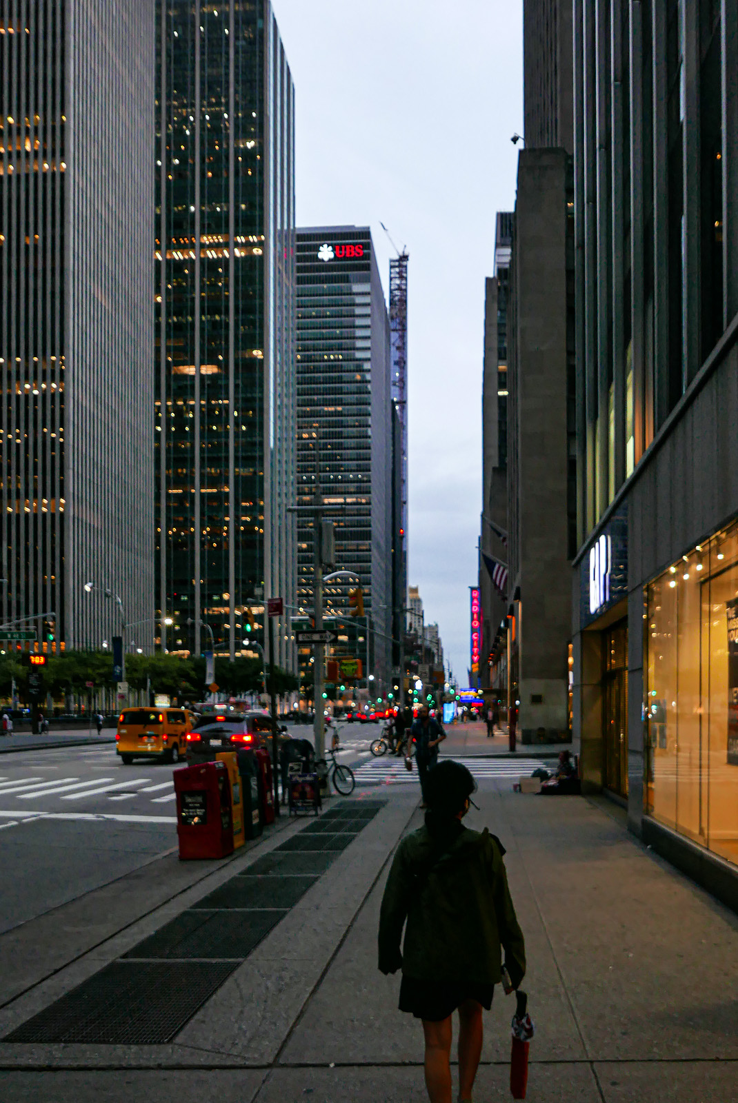 Avenue of the Americas.
