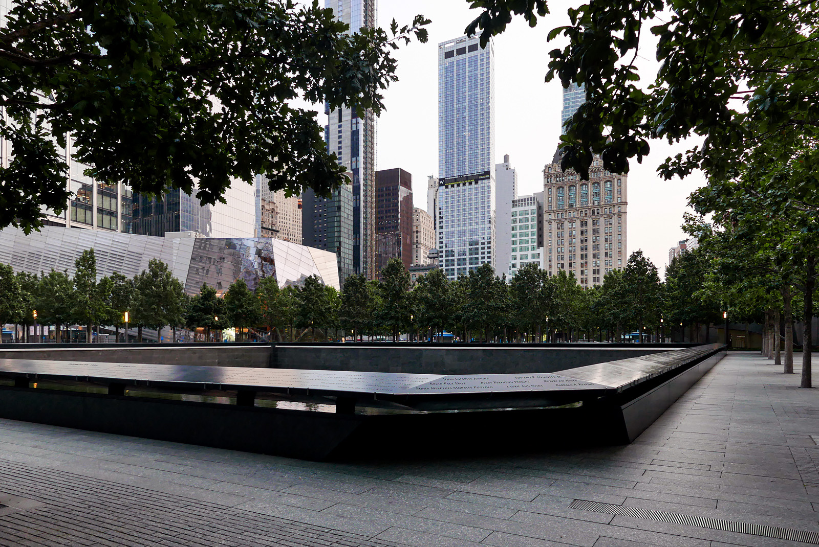 September 11 Memorial - Downtown Manhattan.